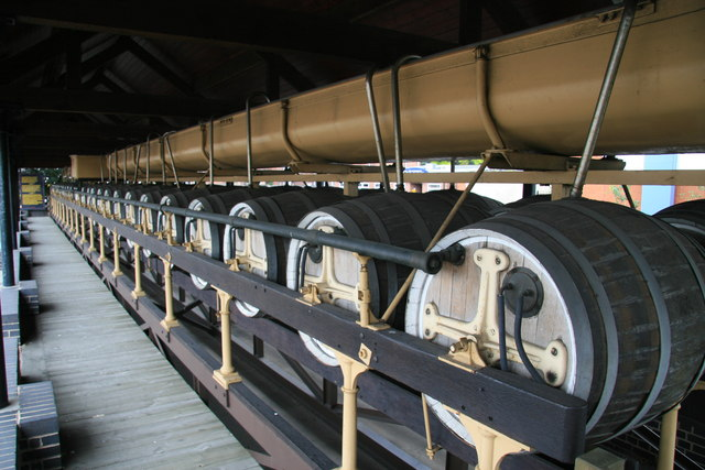 Burton Union fermentation system, Coors Visitor Centre