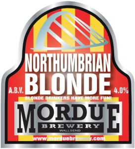 Mordue Northumbrian Blonde pump clip